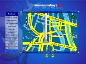 Peta Kota Surabaya Terlengkap dan Terbaru (Digital Map)