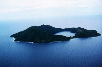 Hufff....Gunung, Danau, Laut..dalam sebuah butiran kecil di samudera